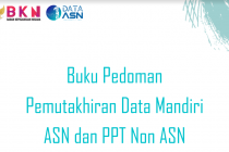 Pedoman Pemutakhiran Data Mandiri ASN & PPT Non ASN 2021