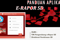 Panduan Mengerjakan e-Rapor SD Versi Terbaru 2020/2021