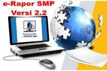 Aplikasi e-Rapor SMP Versi 2.2 Terbaru Tahun 2020/2021