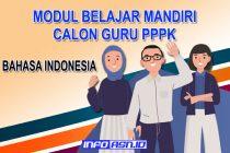 Modul Belajar Mandiri Bahasa Indonesia Bagi Calon Guru Seleksi PPPK 2021