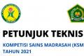 Juknis Kompetisi Sains Madrasah (KSM) 2021