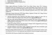Konfirmasi Peserta PPG Daljab Angkatan III Tahun 2021