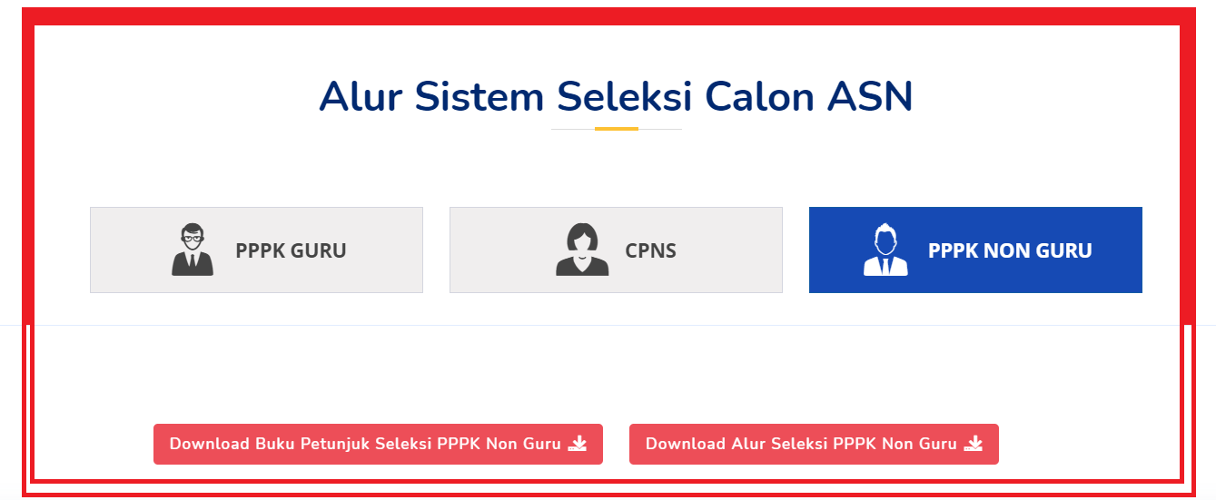 Portal sscasn Bkn Rilis Alur Pendaftaran PPPK Guru, CPNS dan PPPK Non Guru Tahun 2021