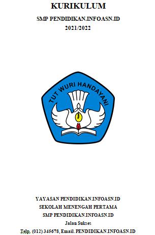 Dokumen 1 Kurikulum 2013 SMP Tahun 2021/2022
