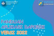 Download Aplikasi Dapodik Versi 2022