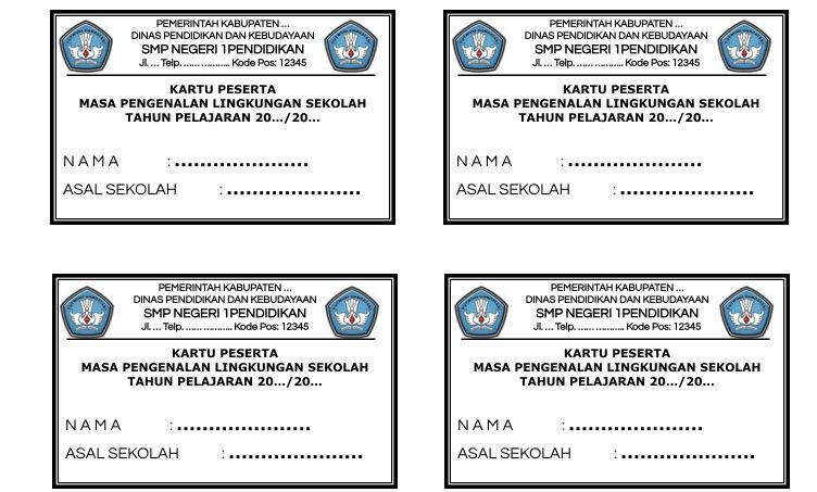 Download Kartu Peserta MPLS Tahun 2021/2022