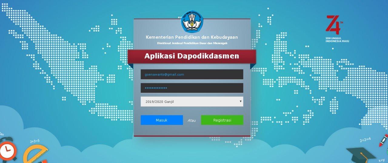 Spesifikasi Minimal Laptop Untuk Instal DAPODIKDASMEN 2022 Terbaru (Perangkat Lunak & Keras)