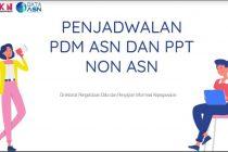 Jadwal Pemutakhiran Data Melalui MY SAPK BKN Berdasarkan Kabupaten Kota SE INDONESIA