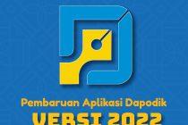 Solusi Error Terdeteksi Versi Database 2.100 Pada Dapodik 2022