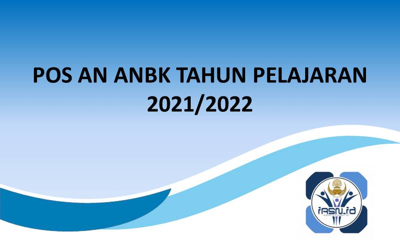 POS AN ANBK TAHUN PELAJARAN 2021/2022