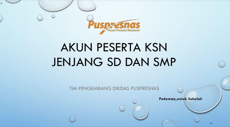 Link Download Aplikasi KSN SD SMP Tahun 2021 dan Langkah-Langkah Uji Coba KSN SD SMP Tahun 2021