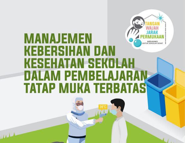 Buku Panduan Manajemen Kebersihan dan Kesehatan Sekolah Dalam Pembelajaran Tatap Muka Terbatas