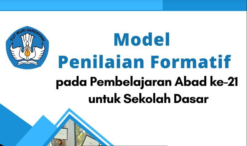 Buku Model Penilaian Formatif SD Pembelajaran Abad 21