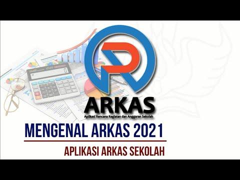 Download ARKAS Versi 3.2 Dana BOS Tahun Anggaran 2021 dan Cara Instal